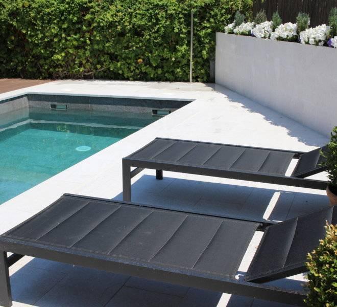 Construcción de piscina de obra en Collado.