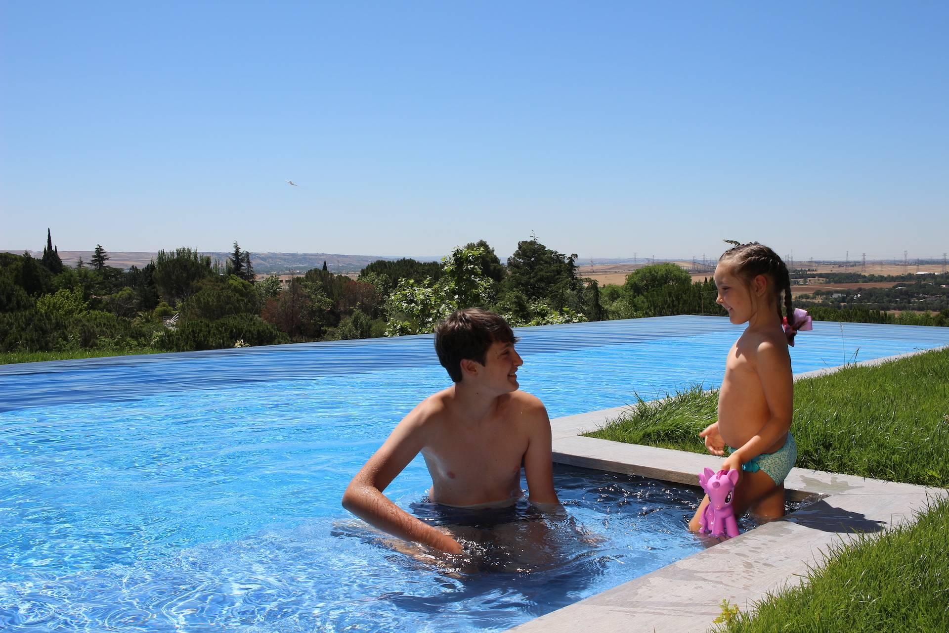 Cómoda piscina