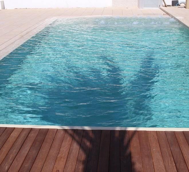 Piscina desbordante rejilla oculta piscinas oscer - Piscina ajalvir ...