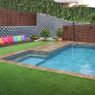 Diseño piscina vintage