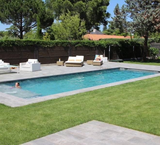 Diseño y construcción de piscina privada en Majadahonda Madrid