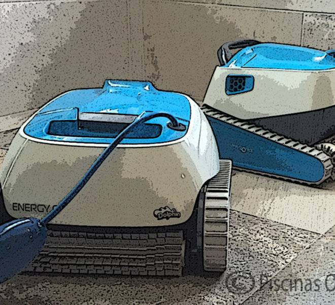 Energy C limpiafondos electrónico para piscina
