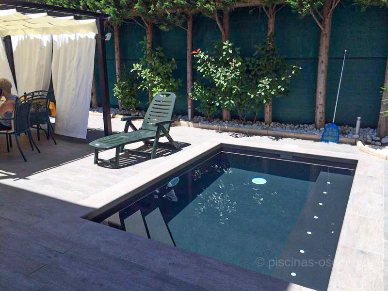 En pequeños espacios construimos grandes piscinas