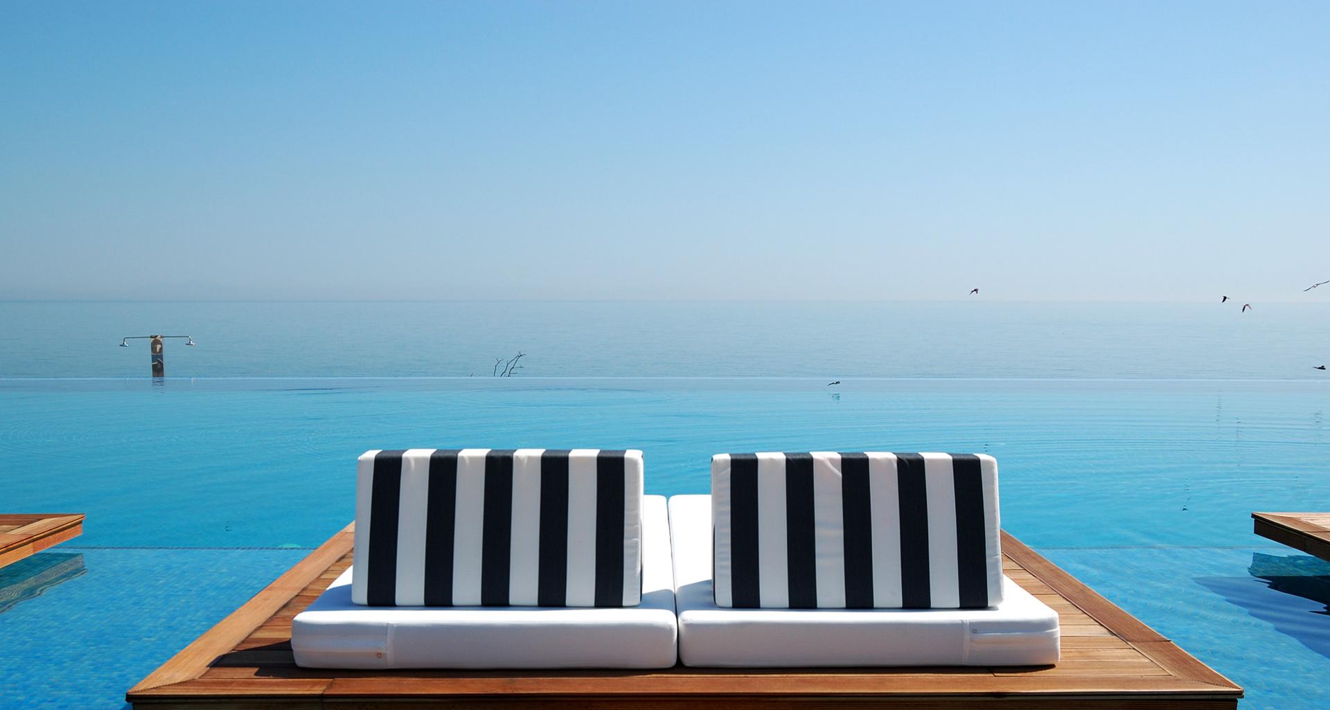 Spa y relax de lujo en el mar